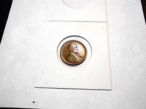 1912-s  lincoln Wheat Cent  FX/ AU  Brown