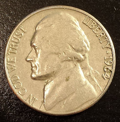 1964-D Jefferson Nickel (6224)