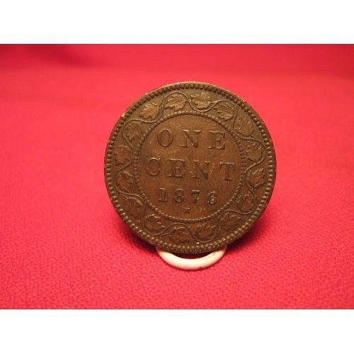 1876h canada large cent