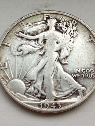 1943 S Walking Liberty Half Dollar - NO RESERVE
