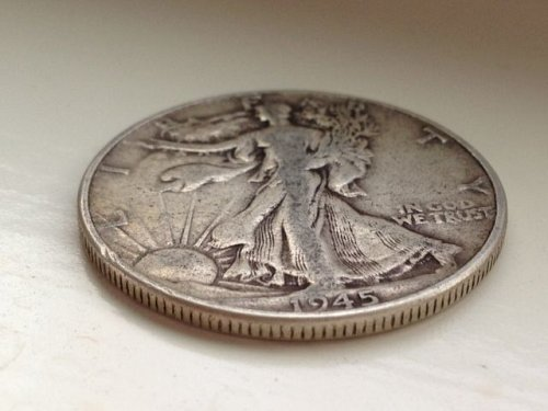 1945 P Walking Liberty Half Dollar - No Reserve