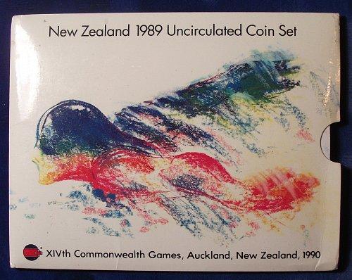 1989 New Zealand Mint Set