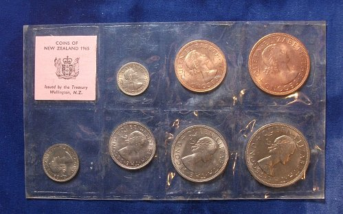 1965 New Zealand Mint Set
