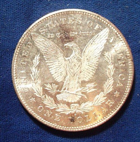 1878S Morgan MS-62