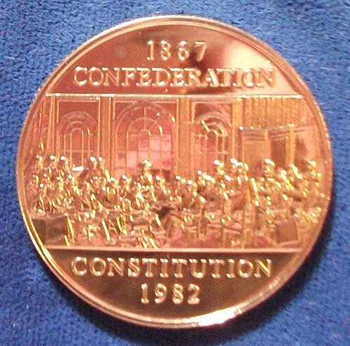 1982 Canada Constitution Dollar Prooflike