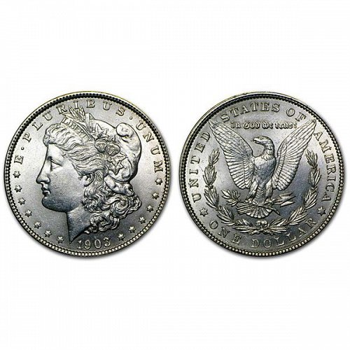 1903 Morgan Silver Dollar - BU
