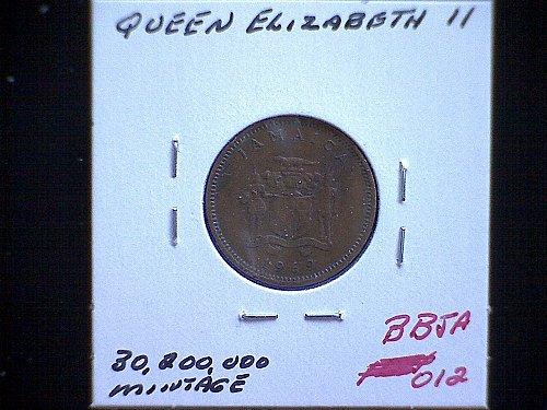 1969 JAMAICA ONE CENT