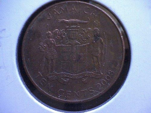 2003 JAMAICA TEN CENTS