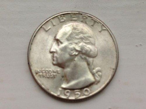 1950 D Washington Quarter