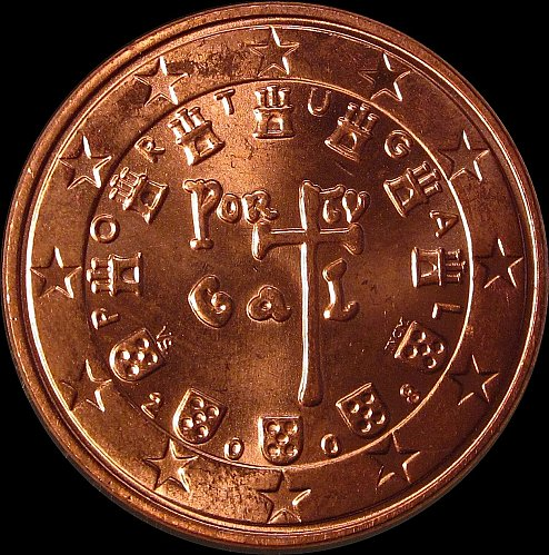 Portugal 5  Euro Cent 2008