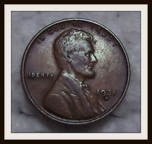 1931 - D Lincoln Wheat Cent (VF)