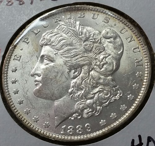 1889 O Morgan Dollar ~ MS 63