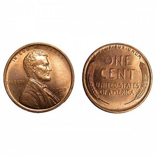 1920 D Lincoln Wheat Cent - Gem BU