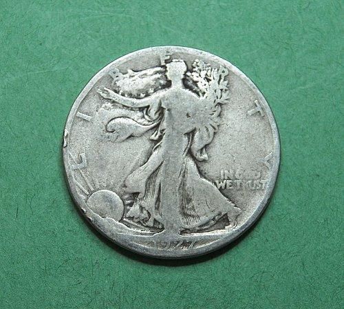 1927 S Walking Liberty Half Dollar