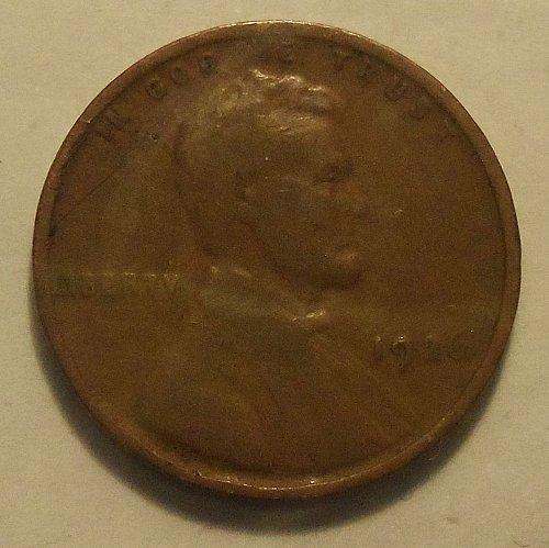 1926 P Wheat Cent  (G+)  #017