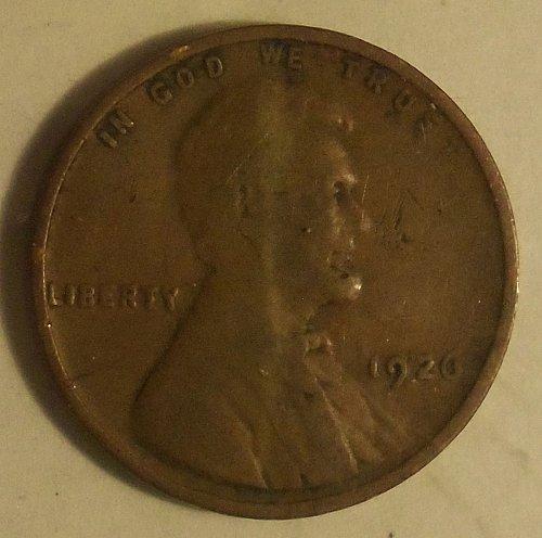 1926 P Wheat Cent  (G+)  #018