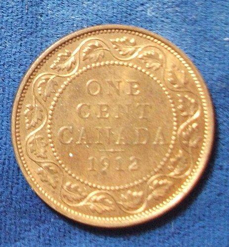 1912 Canada Cent UNC