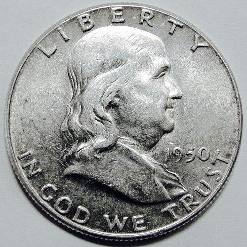 1950 P Franklin Half Dollar #2