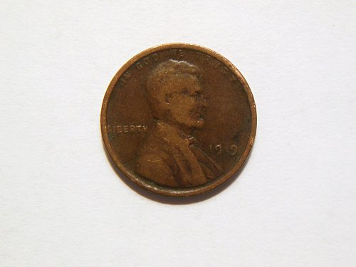 1919-P Lincoln Wheat Cent