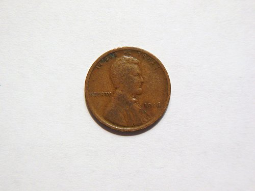 1916-P Lincoln Wheat Cent.