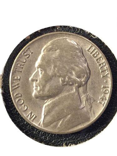 1947-P Jefferson Nickel