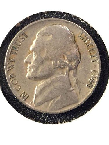 1940-D Jefferson Nickel