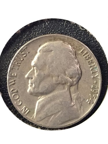 1954-P Jefferson Nickel