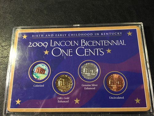 """2009 Lincoln Bicentennial Series """"One Cents"""""""