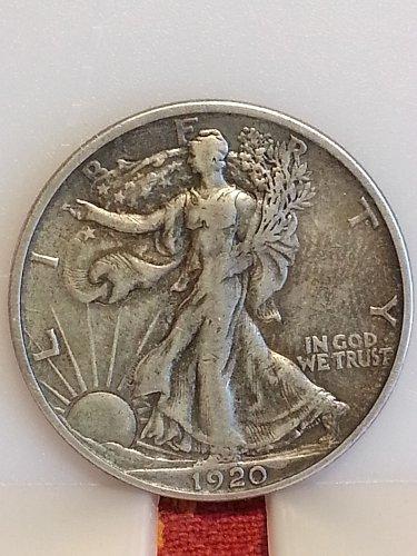1920-S Walking Liberty Half