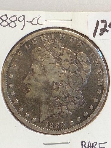 1889-CC Morgan Dollar Key Date