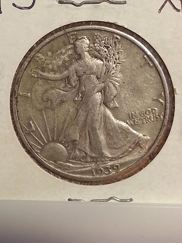 1939-S Walking Liberty Half