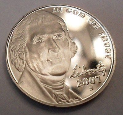 2007-s Jefferson Nickel Proof. Absolutely Goegeous. PF70?