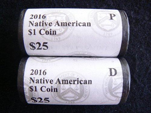 2016 D Sacagawea Code Talkers Dollar