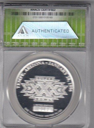 Super Bowl XXX 1 ounce Silver Coin