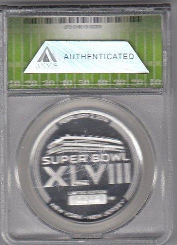 Super Bowl XLVIII 1 ounce Silver Coin