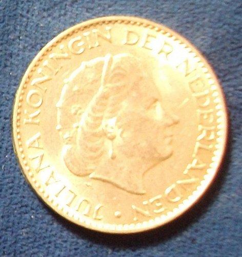 1964 Netherlands Gulden AU