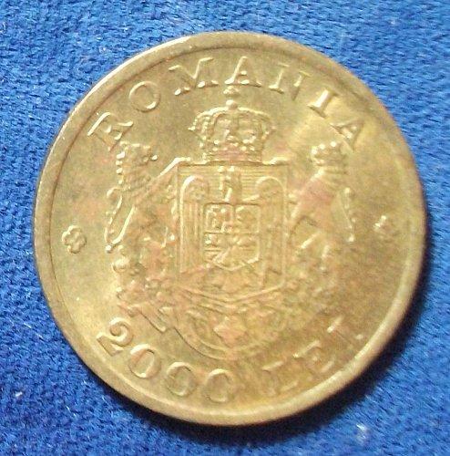 1946 Romania 2000 Lei UNC