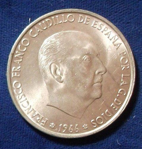 1966(66) Spain 100 Pesetas UNC