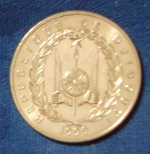 1999 Djibouti 50 Francs BU, mintage 1800