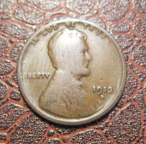 1913 D Lincoln Wheat Cent #1