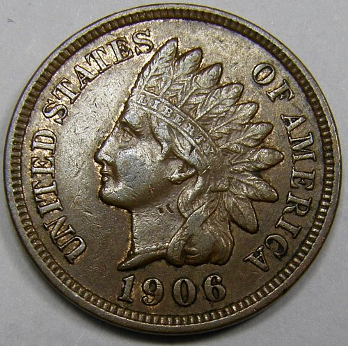 1906 P Indian Head Cent #3