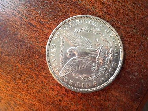 1881 O Morgan silver dollar mint!!