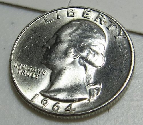 MS-65 (or better) 1964-D Washington Quarter