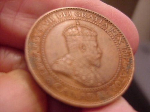 1908 canada large cent.....nice