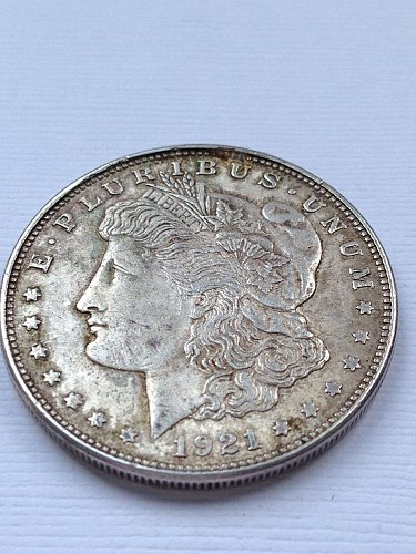 1921 D Morgan Dollar