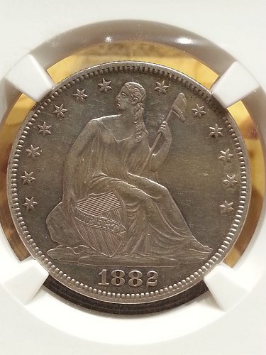 1882 Seated Liberty Half - RARE