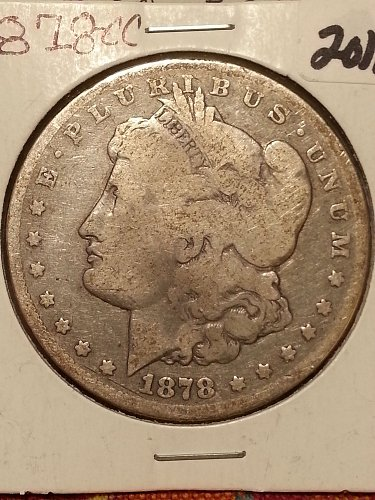 1878-CC Morgan Dollar