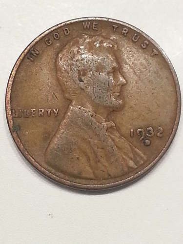 1932-D Lincoln Cent