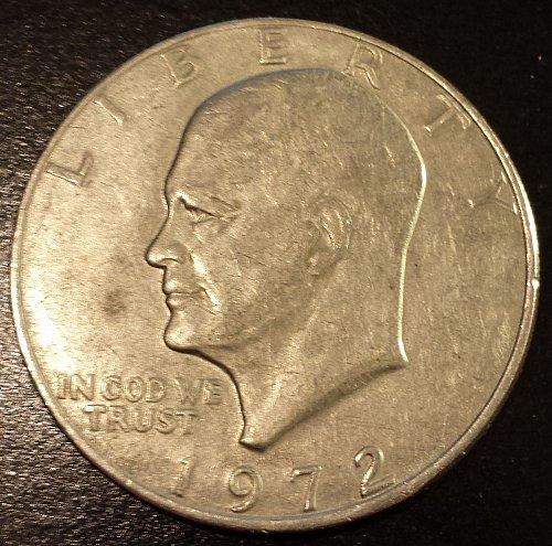 1972 Eisenhower Dollar (6267)