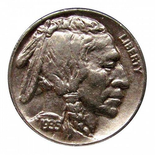 1935 D Buffalo Nickel - AU